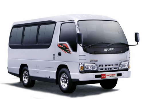 review isuzu elf 4 roda