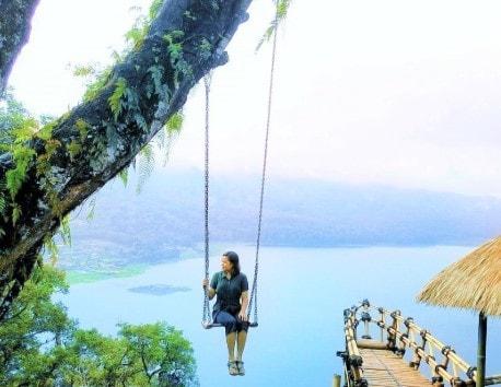 spot foto di wanagiri hidden hill